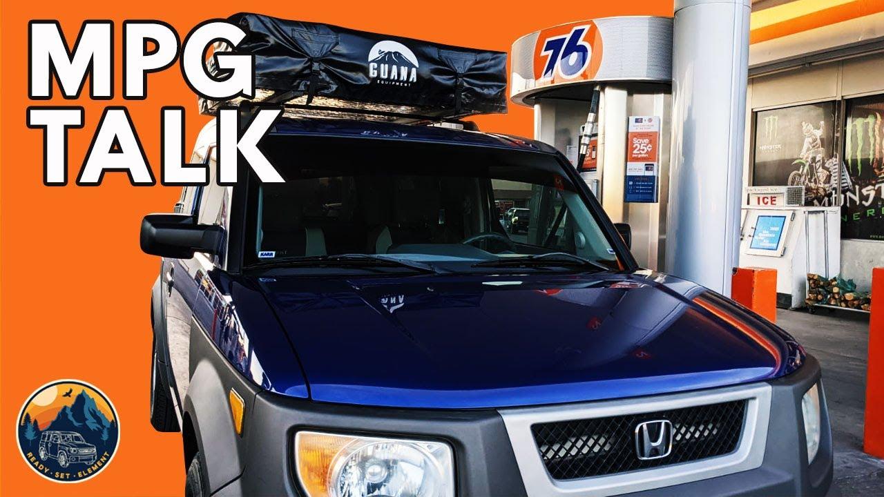 Watch Before You Buy, Honda Element Camper MPG   Informal Car Chat