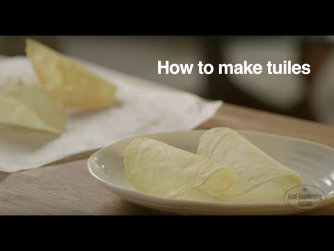 How to make tuiles