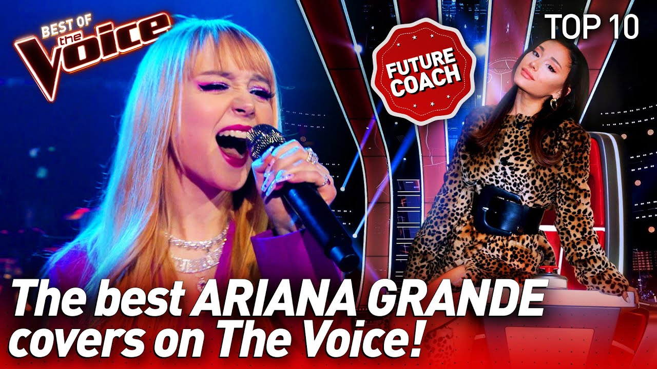 NEW The Voice Coach ARIANA GRANDE would be SO PROUD 🤩 | Top 10