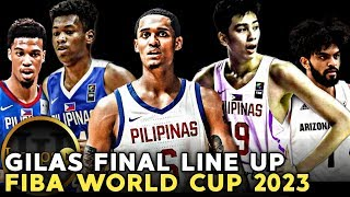 FIBA WC 2023 Final Line up|Dream team para sa Gilas Pilipinas