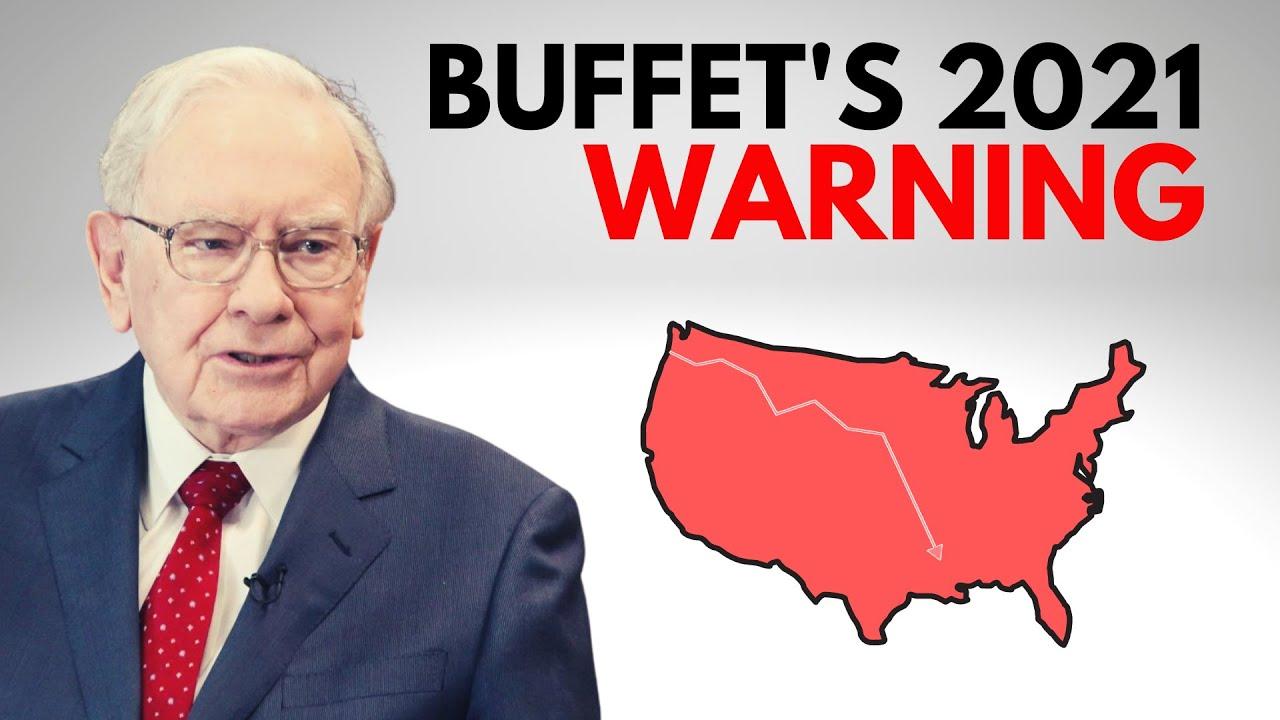 Warren Buffet Issue's Dire 2021Inflation WARNING