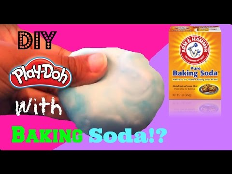 DIY Playdough With Baking Soda!?