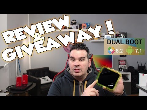 REVIEW & INTERNATIONAL GIVEAWAY OF THE TANIX TX3 MAX !!