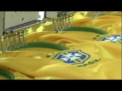 Scopri come nasce la maglia del Brasile 2012-2013 firmata Nike