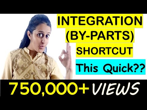 INTEGRATION SHORTCUTS- BY PARTS-TRICK || JEE/EAMCET/NDA TRICKS