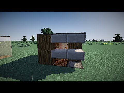 ✔ Minecraft: Small Shack Tutorial (Smallest house known to man)
