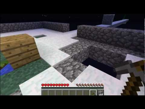 Minecraft: SkyBlock Survival Ep. 3 - Infinite WATER!