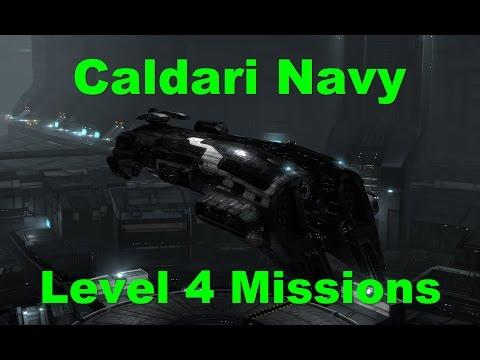 Caldari Navy Level 4 Missions - EVE Online Live