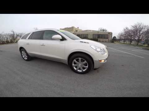 2009 Buick Enclave - white