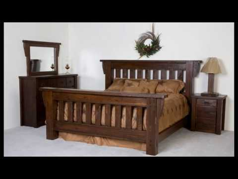 Rest Soudly With Rustic Wooden Beds
