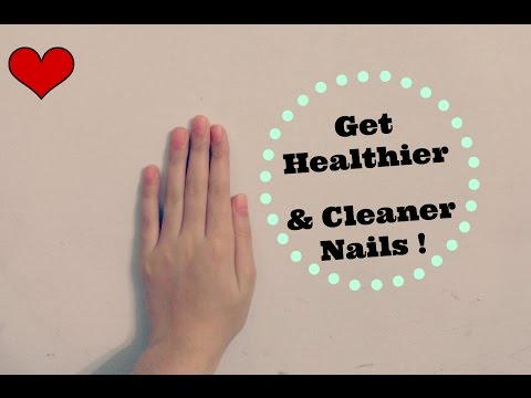 How To Clean Your Nails + DIY Stained Free Nails And More !