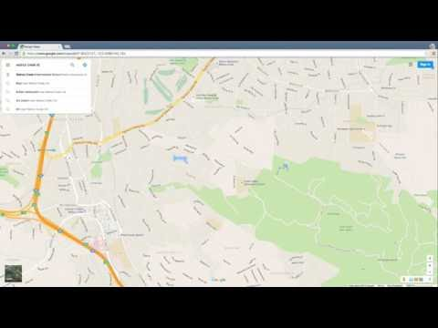 A Python Flask Web App Showing Schools with Google Maps