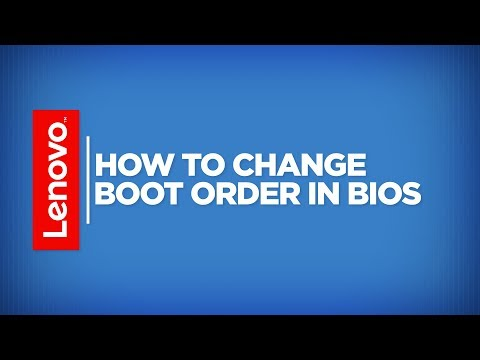 How To - Change Boot Order in BIOS