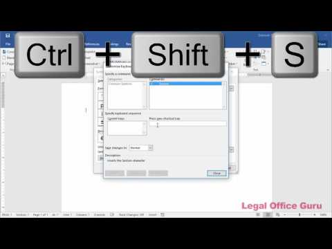 How to make a shortcut key for inserting symbols in Microsoft Word 2016