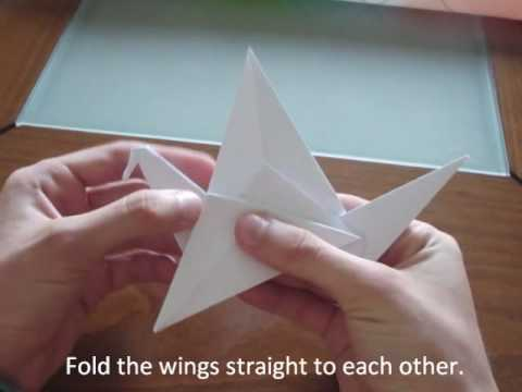 How To Make an Origami Flapping Bird [HQ]