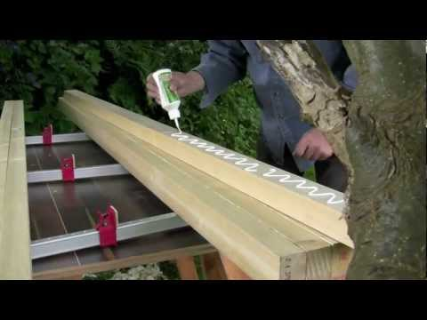 How to build a workbench - (Part 1) Laminating the top | Paul Sellers