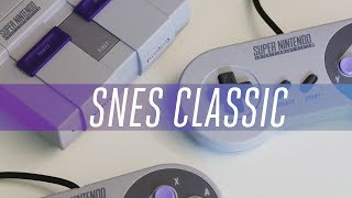 SNES Classic hands-on