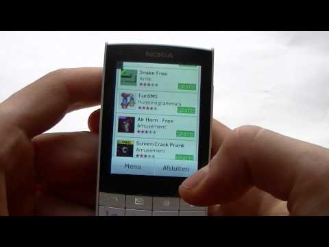 English: Nokia X3-02 Touch and Type video preview