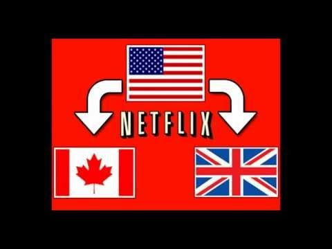How to Get American Netflix: Watch US Netflix in Canada / UK - 2012