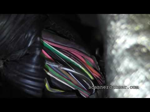 How to locate a short in a wiring harness (visual inspection)