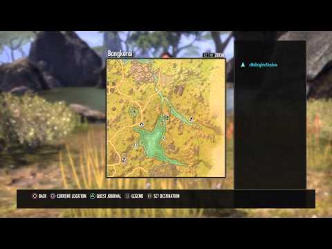 The Elder Scrolls Online: Tamriel Unlimited Werewolf Shrine Location (Daggerfall Covenant)