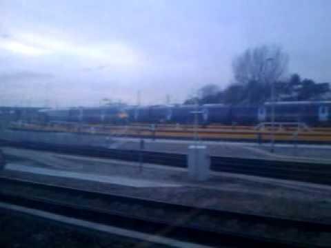 Hitachi Javelin Trains at Ashford International