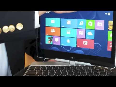 HP Elitebook Revolve Tablet First Look