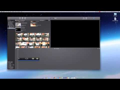 How to Export a File in iMovie 2014