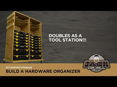 DIY Sortimo Storage Rack with Tool Station