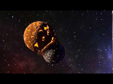 Colliding Planets Animation - Blender 3D