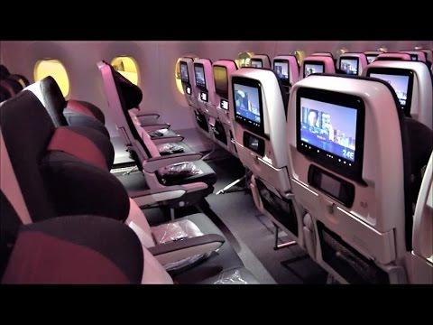 Qatar A350 Economy Class Review