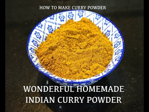 How to make Curry Powder - Homemade curry powder - Easy Curry Powder