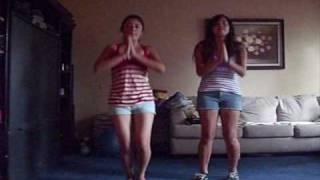 Dancing waka waka