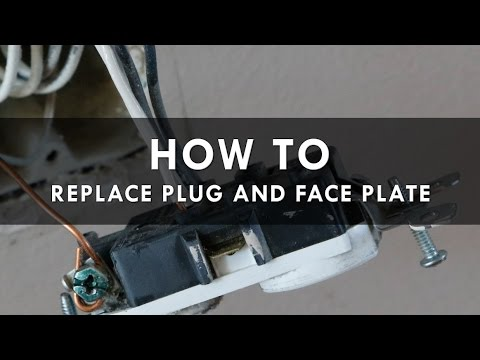 How To Replace An Old Electrical Wall Plug Outlet and Wallplates