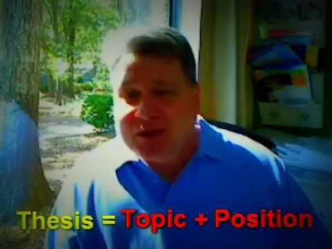 Thesis: How to Write a Thesis Statement for Your English Essay