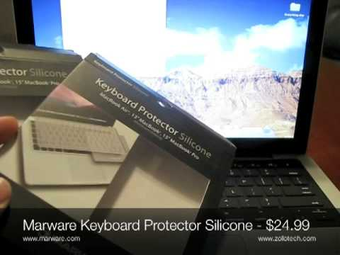 Marware, Keyboard Protector Silicon For Aluminum Unibody