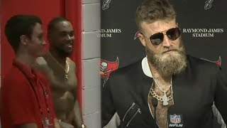 "Ryan ""FitzMAGIC"" Stole Desean Jackson's Suit For A LEGENDARY Post Game Interview"
