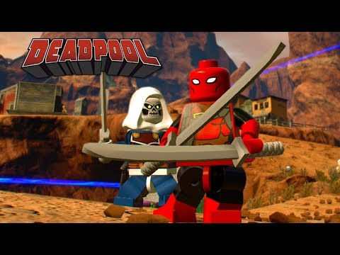 LEGO Marvel Super Heroes 2 Deadpool Free Roam Gameplay (Custom Character)