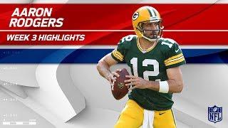 Aaron Rodgers Highlights vs. Cincinnati | Bengals vs. Packers | Wk 3 Player Highlights