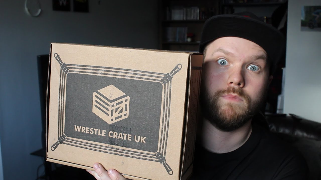 Wrestle Crate UK Unboxing! (March 2021)