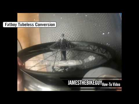HOW TO: Specialized Fatboy Tubeless Tire Conversion FATBIKE
