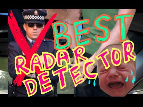 BEST RADAR! Demonstration of (V-1) Valentine One Police Radar Detector