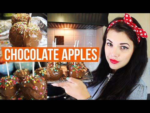 CHOCOLATE APPLES | Cherry's Kitchen