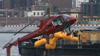 Passengers killed in helicopter crash had to be cut out of their harnesses