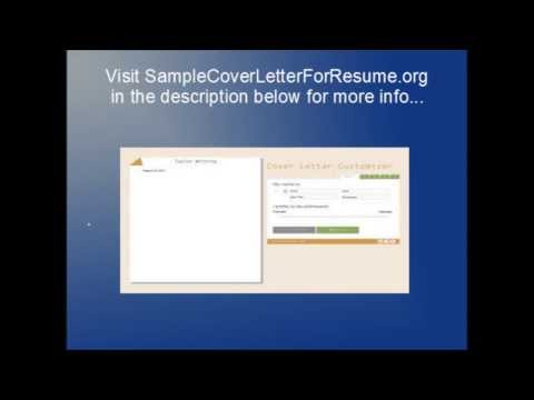 Professional Cover letter - Business Cover Letter - Sample Professional Resume