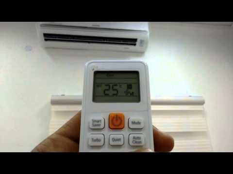 How to : Start on functioning of Samsung Split AC 2 Ton / 3 ton split AC