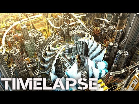 Minecraft Timelapse | Complexcity - The ultimate futuristic City