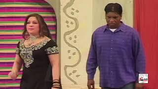AASHIQ - AMANAT CHAN & KUBRA MALIK - PUNJABI STAGE DRAMA COMEDY CLIP - HI-TECH PAKISTANI