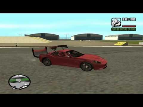 Ferrari California Convertible mod