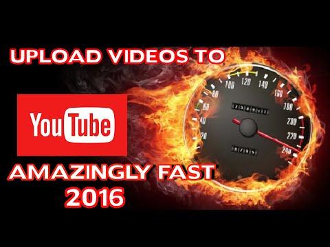 Increase upload speed 2016